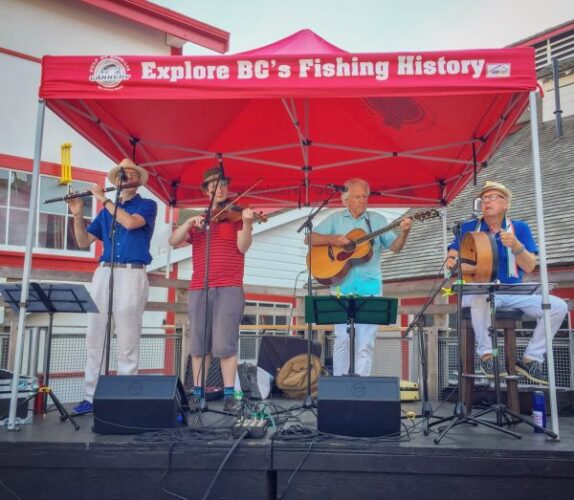 Music at the Cannery – cheers to local artists!